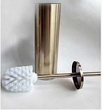Ершик для унитаза бронза 6-040, фото 2