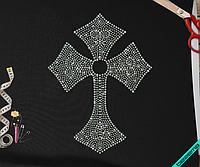 Рисунки на текстиль для дома Крест  (Стекло,3мм-бенз.,4мм-бенз.)