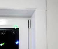 Откосы Qunell (Кюнель) белые К100 1.5-1.5. Готовый набор с креплениями на окно 1,5*1,5