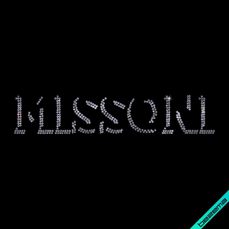Дизайн из страз на колготки Логотип (Стекло, 2мм-бел.)