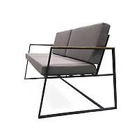 Металлический диван Special Sofa с подлокотниками