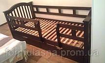 Кровать подростковая Максим с защитными перегородками, фото 3
