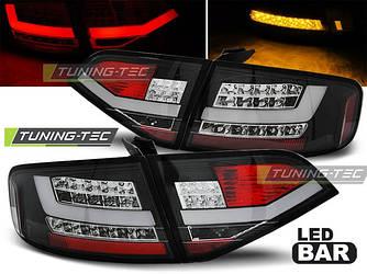 Фонари стопы тюнинг оптика Audi A4 b8 дорестайл