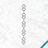 Дизайн из страз Узор (Стекло, 2мм-черн.), фото 1