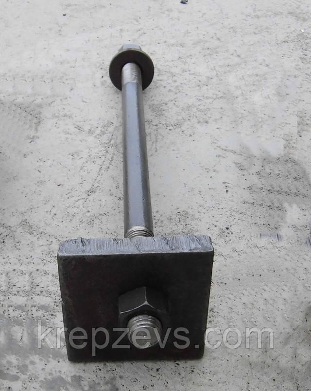 Болт фундаментный, ГОСТ 24379.1-80 | Фотографии принадлежат предприятию ЗЕВС®