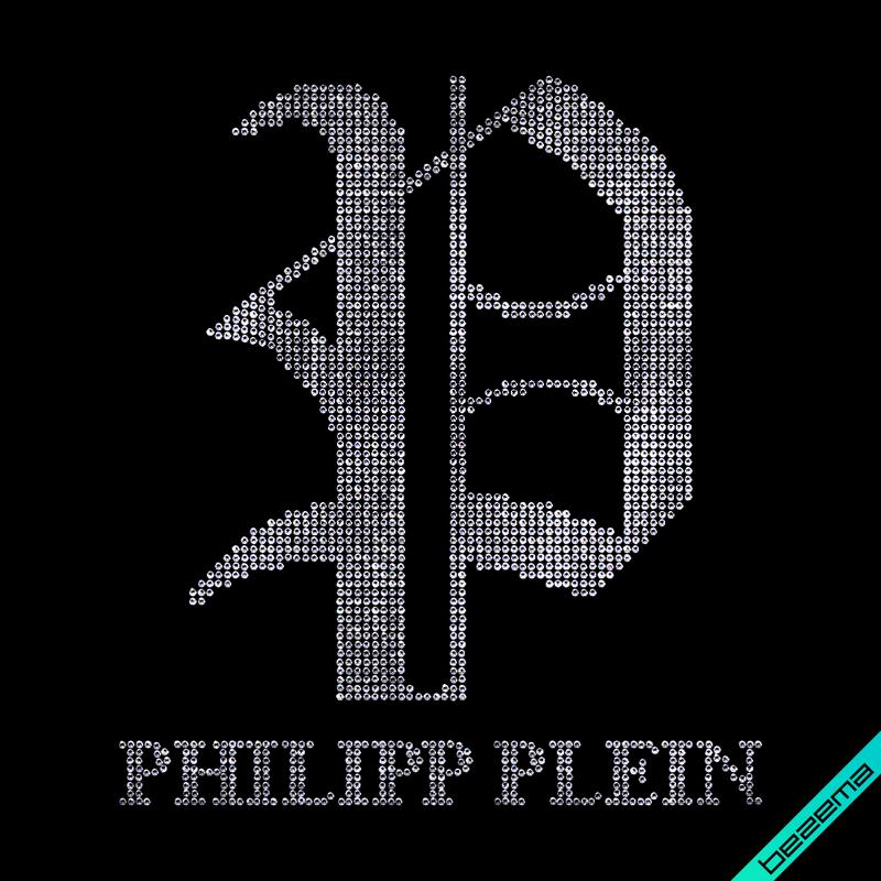 Термопереводки на свитеры Philipp Логотип (Стекло, 3мм-бел.)