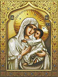 Схема для вышивки / вышивания бисером «Св Богородица Умиление» (A1) 60x80