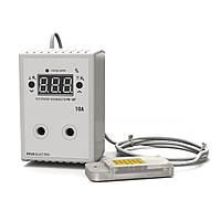 Регулятор-измеритель влажности цифровой в розетку РВ-10Р-AM2302 (220В, 10А)