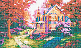 Схема для вышивки / вышивания бисером «Осіння алея» (A1) 60x80