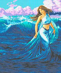 Схема для вышивки / вышивания бисером «Морська Німфа» (A1) 60x80