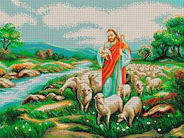 Схема для вышивки / вышивания бисером «Добрий пастир» (A1) 60x80