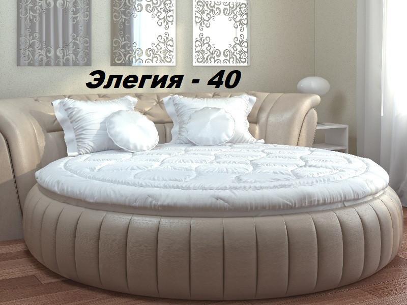 Кровать круглая Элегия-40 (Мебель-Плюс TM)