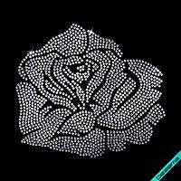 Термотрансферы на жакеты Роза (Стекло,2мм-бел.)
