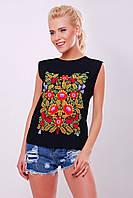 f03109e46281 Женская футболка Гуччи Gucci ткань хлопок цвет черный, цена 420 грн ...