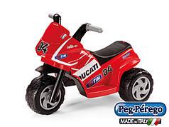 Детский трицикл Peg Perego Mini Ducati 6V, мощность 35W, размер 69*44*48 см