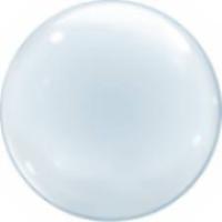 "Шар 24""/60см Bubble Deco бабл стеклянный Китай"