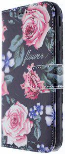 Чехол Milkin for Samsung J330/J3 2017 - Superslim book cover Flowers