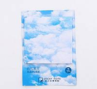 Стикеры с клейкой полосой Облака