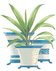 Схема для вышивки / вышивания бисером «Квітка Юка» (A3) 30x40