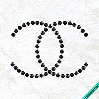 Дизайн на головные уборы Логотип (Стекло,2мм-черн.)