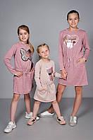 Детское платье с пайетками для девочки