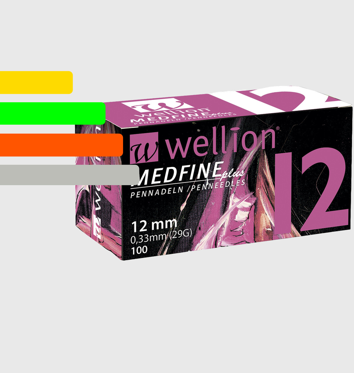 Иглы Wellion Medfine Plus - Веллион Медфайн 12мм, 29G для инсулиновых шприц-ручек
