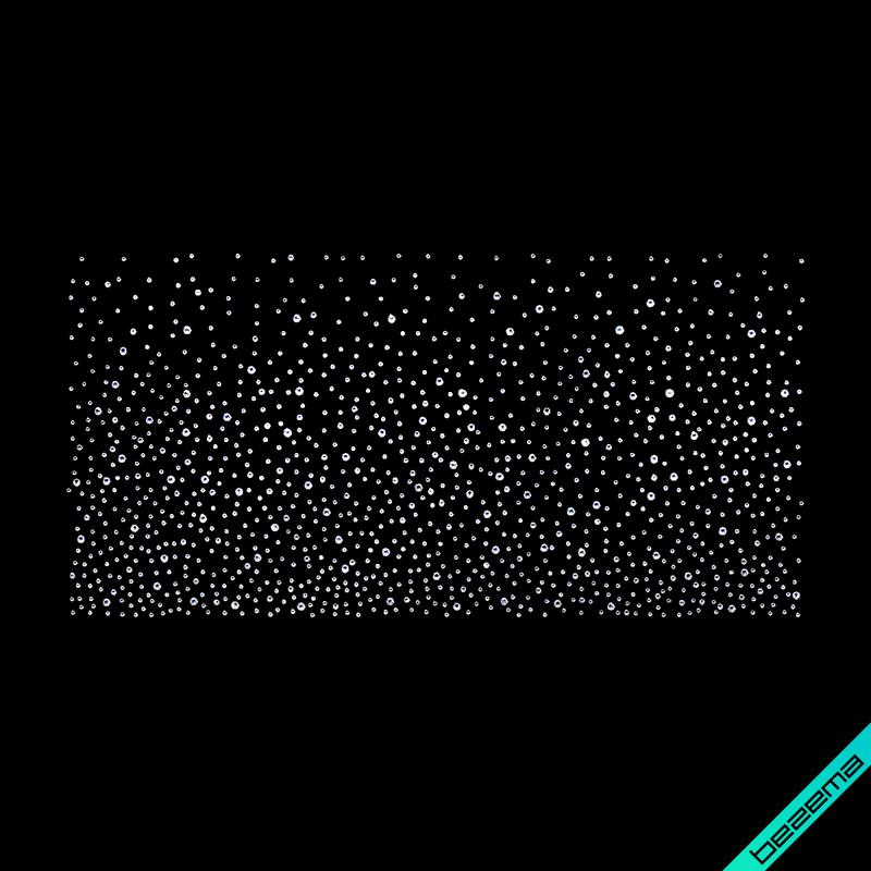 Термопереводки, латки на галстуки Россыпь (Стекло,2мм-бел.,3мм-бел.,4мм-бел.)