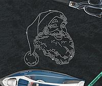 Термопечать на шапки Санта Клаус (Стекло,2мм-бел.)