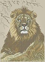 Схема для вышивки / вышивания бисером «Лев» (A3) 30x40