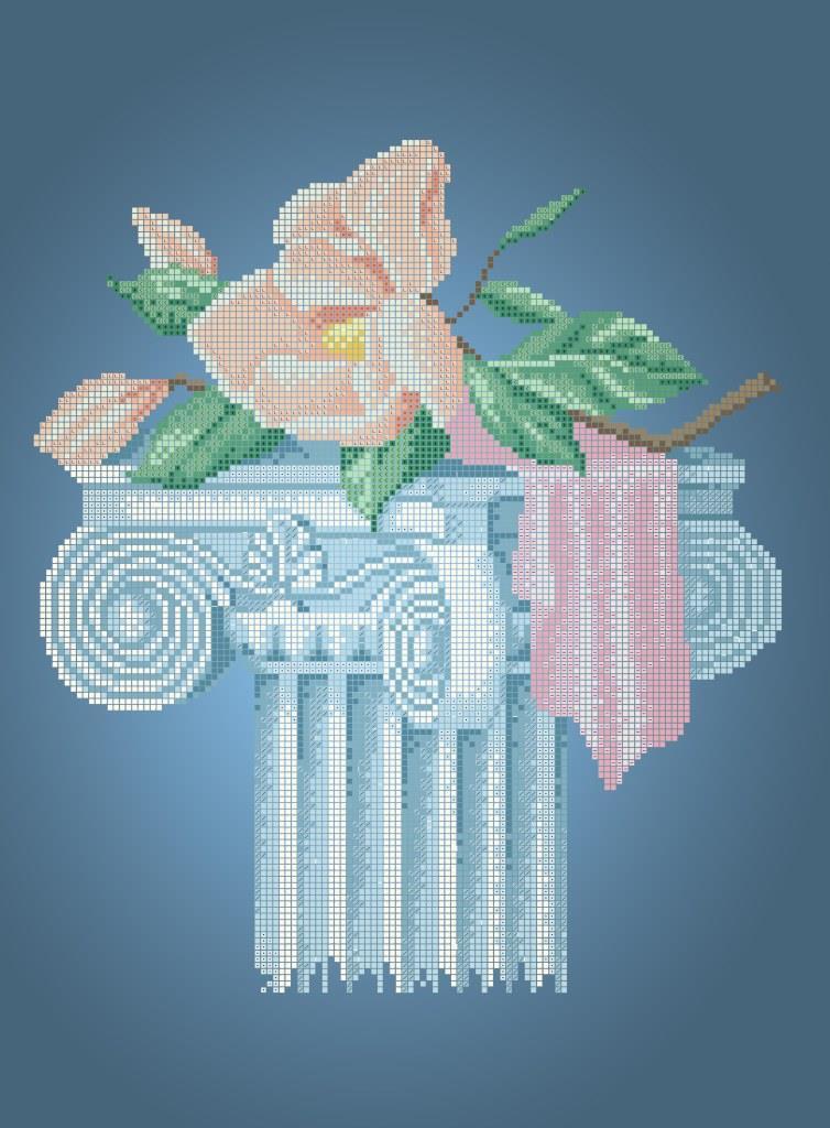 Схема для вышивки / вышивания бисером «Флірт 5358» (A3) 30x40