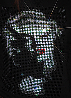 Термопринт на рюкзаки Монро (Стекло,3мм-бел.,3мм-красн.,3мм-черн.)