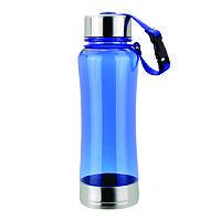 Бутылка Forte пластиковая, синяя, 600 мл