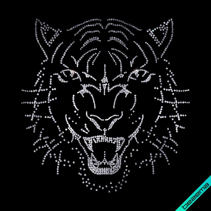Картинки на оксамит Тигр (Скло,2мм-біл.,3мм-біл.,4мм-біл.)