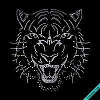 Картинки на бархат Тигр (Стекло,2мм-бел.,3мм-бел.,4мм-бел.)