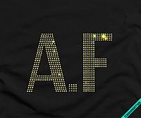 Термотрансфер на пуловеры A.F (Стекло,4мм-жел.)