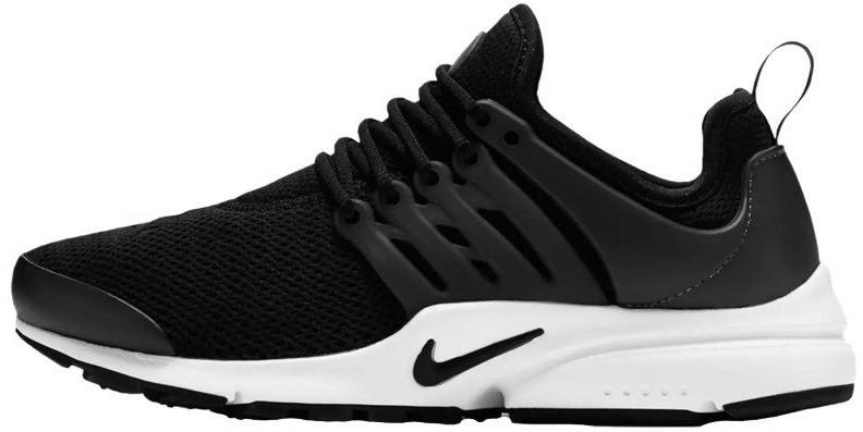 Мужские кроссовки Nike Air Presto (Найк Аир Престо) черно-белые