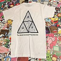 Huf футболка белая. Отличное качество. Живые фотки