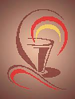 Схема для вышивки / вышивания бисером «Міцна кава»  (A4) 20x25