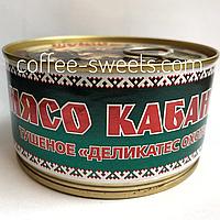 Мясная консерва Балтийская охота Мясо кабана 325г