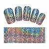 Фольга для дизайна ногтей с голографическим эффектом
