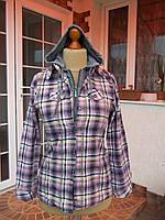 Рубашка  с капюшоном 100% коттон женская (46р)