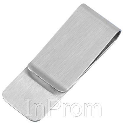 Зажим для денег OYS Classic Silver, фото 2