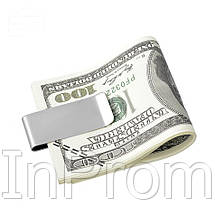 Зажим для денег OYS Classic Silver, фото 3