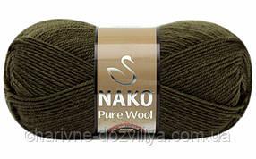 Пряжа для ручного вязания NAKO Pure Wool