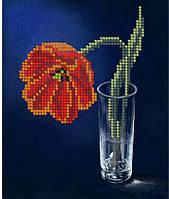 Схема для вышивки / вышивания бисером «Тюльпан» (A5) 15x18