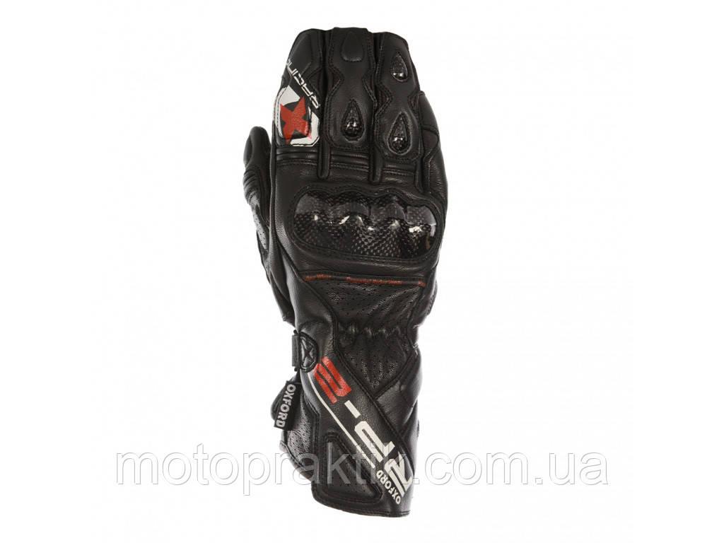 Oxford RP-2 Sum Gloves, TechBlack, S Мотоперчатки спортивные