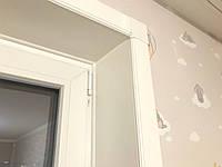Откосы Qunell (Кюнель) белые К100 2.1-2.1 (глубина 100мм/высота 2100мм/ширина2100мм).Набор на балконный блок