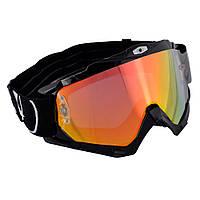 Oxford Assault Pro Goggle - Glossy Black, Мотоочки / маска кроссовые (прозрачная линза)