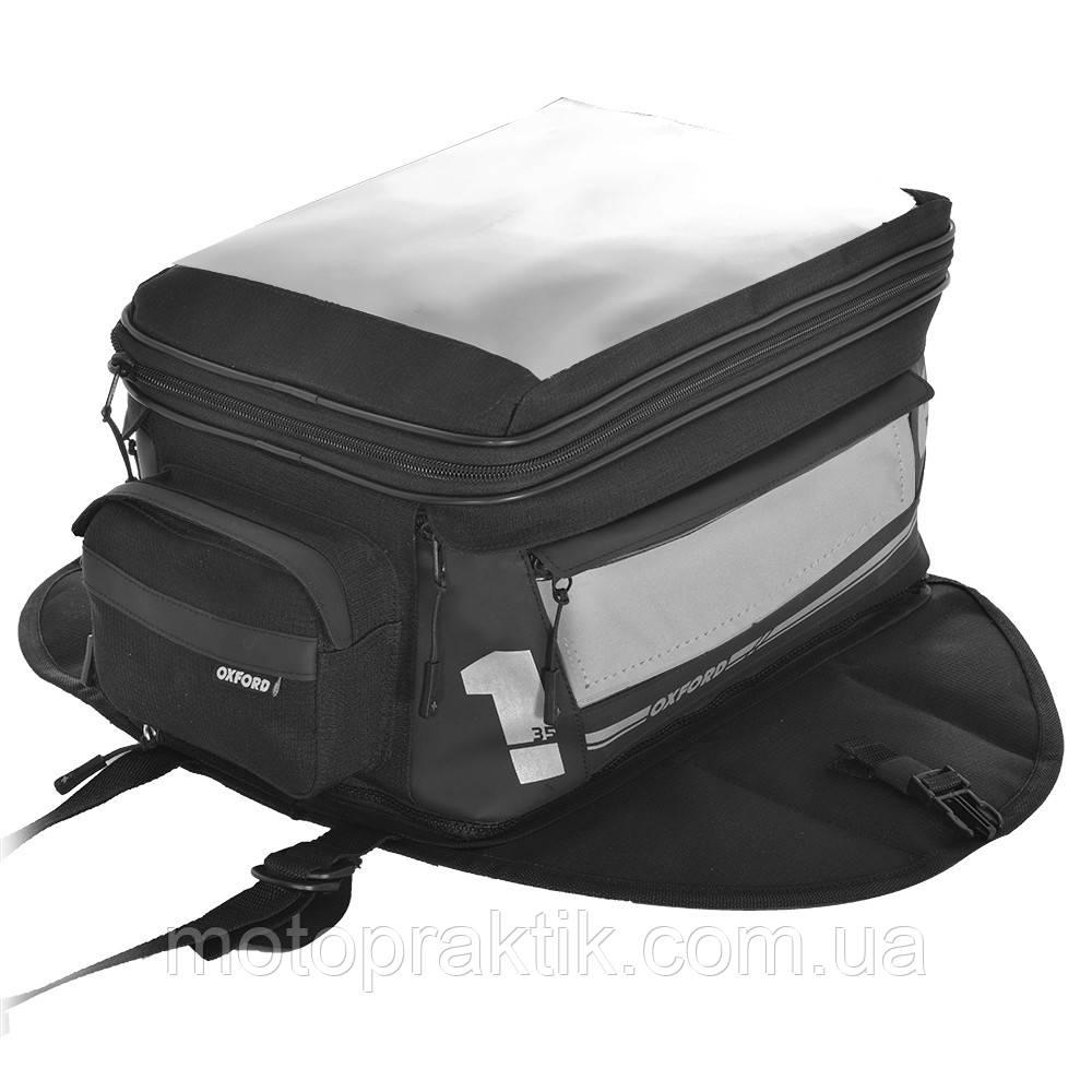 Oxford F1 Tank Bag Large 35L Magnetic, Сумка на бак магнитная