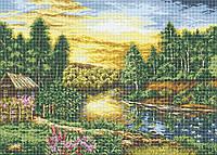 Схема для вышивки / вышивания бисером «Пейзаж» (A1) 60x80